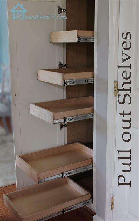 shelves that slide out custom sliding shelves slide out pantry shelves base cabinet organizer