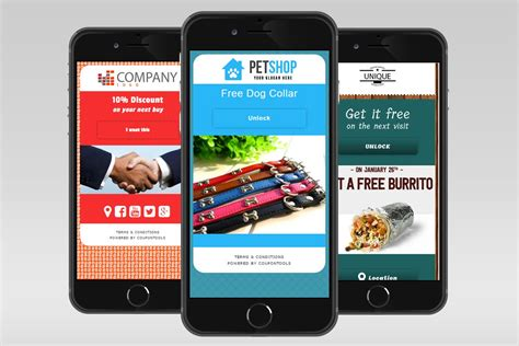 mobile promotions do it all mobile coupon builder