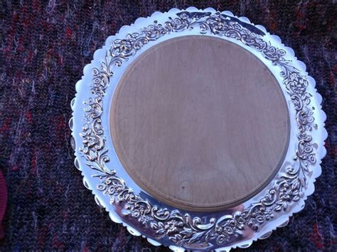 stunning royal mappin webb victorian antique silver plate bread cheese board