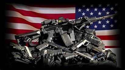 Flag Gun Guns Control Political Anarchy Usa