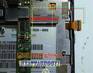 Huawei G520 Cell Phone Screen Repair Light Problem