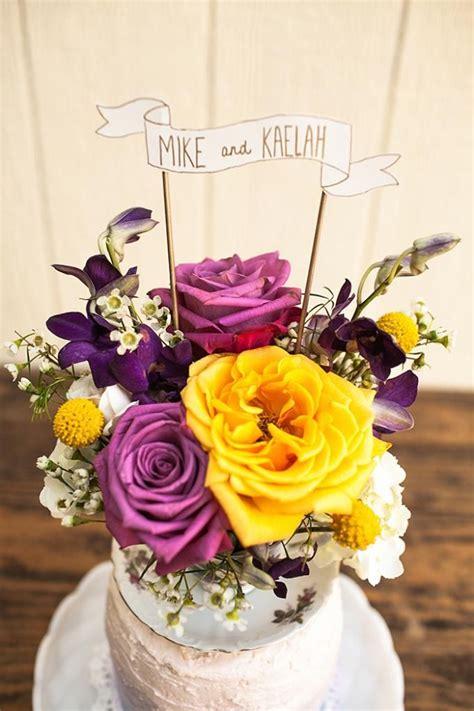 diy floral cake topper with stockroom vintage diy
