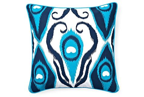 E & J Home Decorative Pillow :  Blue / White Images On Pinterest