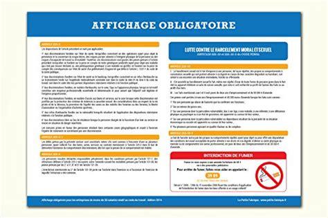 affichage obligatoire code du travail 2016 123chantier