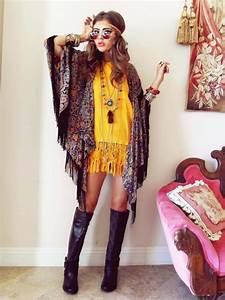 Mode Hippie Chic : la mode hippie chic 50 id es t automne de style boh me ~ Voncanada.com Idées de Décoration