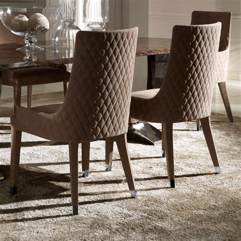 italian dining table sets contemporary quilted nubuck leather italian dining chairs