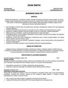 business resume template click here to this business analyst resume