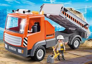 Video De Camion De Chantier : jouet playmobil city action le camion de chantier 6861 ~ Medecine-chirurgie-esthetiques.com Avis de Voitures
