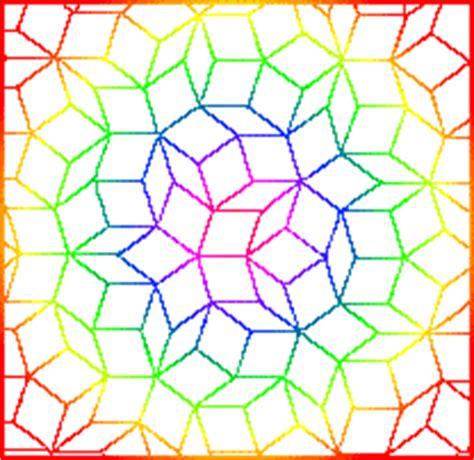 the golden mean penrose tilings towards