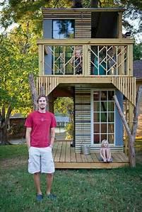 Baumhaus Ohne Baum : 50 kids treehouse designs ~ Lizthompson.info Haus und Dekorationen