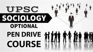 UPSC Sociology Optional Pen Drive Course Launch - YouTube