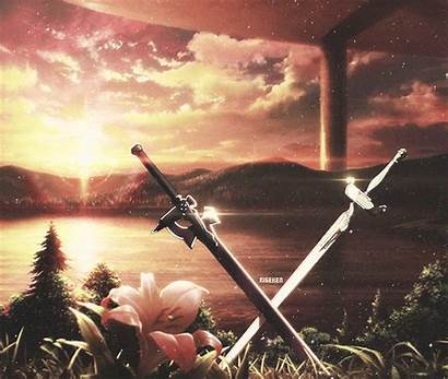 Anime Sword Sao Intro Lambent Steam Animated