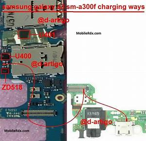 Samsung Galaxy A3 A300f Charging Problem Solution