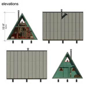 small a frame cabin plans a frame tiny house plans