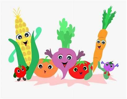 Vegetables Fruits Clipart Clip Veggie Fruit Vegetable