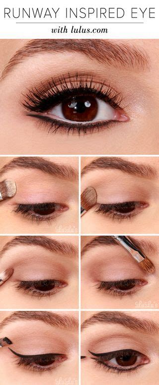 pretty makeup tutorials  brown eyes styles weekly