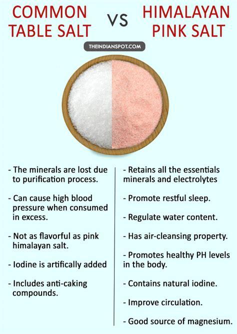 mineral salt vs table salt table salt vs himalayan pink salt which is better and