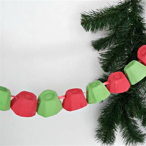 christmas garland easy preschool craft preschool toolkit