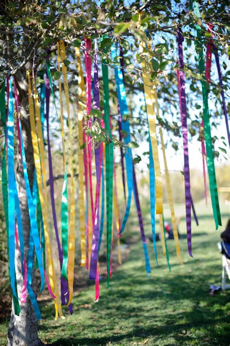 Garden Decoration Tree by Ribbon Spell Write Your Intentions On Ribbons And Tie