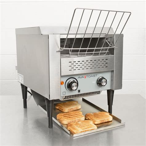 electric conveyor toaster avatoast conveyor toaster commercial restaurant 3 quot opening