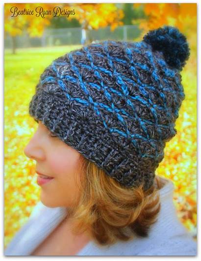 Beanie Crochet Ridge Pattern Steel Ravelry Designs
