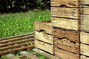 L Art De La Caisse : caisse en bois vintage l 39 art de la caisse ~ Carolinahurricanesstore.com Idées de Décoration