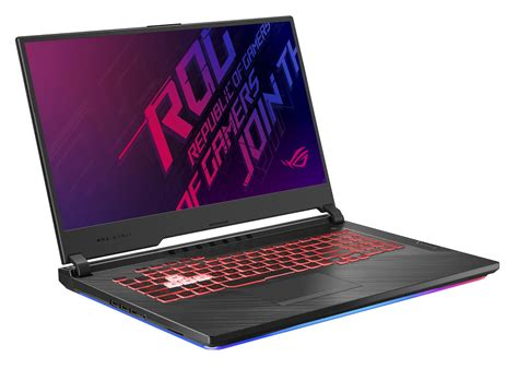 led light show asus rog strix  glgu laptop review notebookchecknet reviews