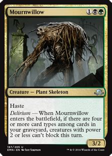 Mtg Skeleton Deck by Mournwillow From Eldritch Moon Spoiler