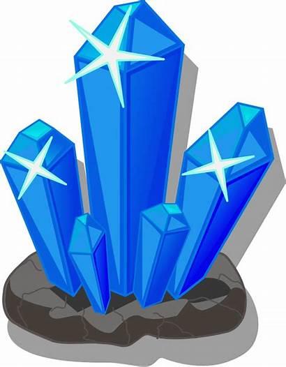 Clipart Crystal Clip Crystals Salt