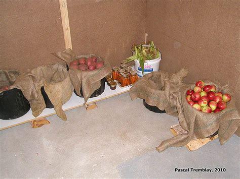 la chambre froide chambre froide au sous sol plan rangement pour les conserves