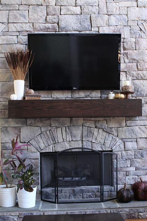 diy fireplace mantel how to make a wood mantel shelf for a fireplace