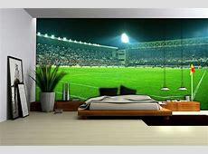 Football Stadium Wallpaper Mural 306VE Football Bedrooms