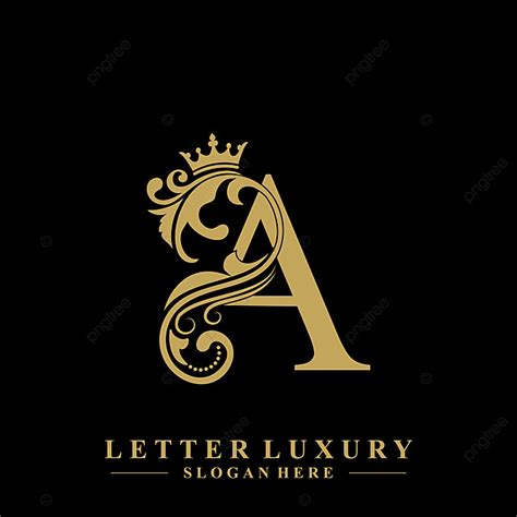 initial letter  luxury beauty flourishes ornament  crown logo template text effect eps