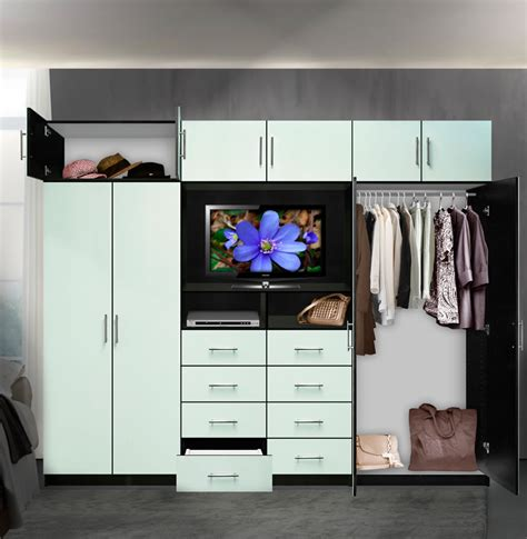 aventa tv wall unit  tall  door wall unit