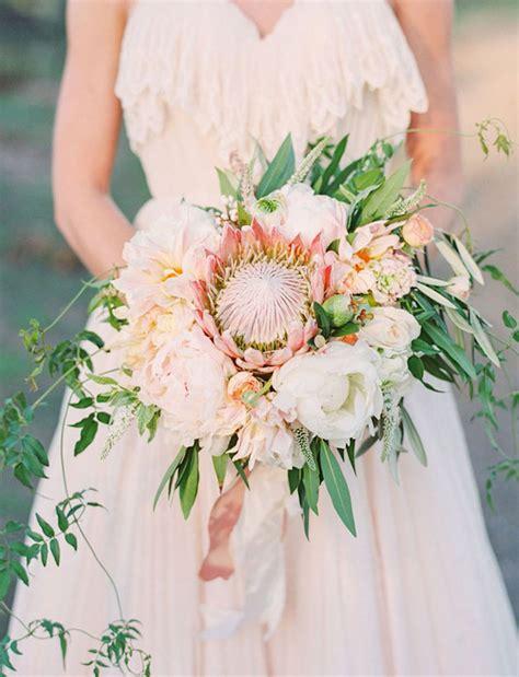 Trend Alert 20 Gorgeous Protea Bouquets