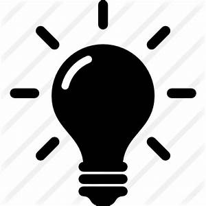 Idea and creativity symbol of a lightbulb - Free Tools and ...