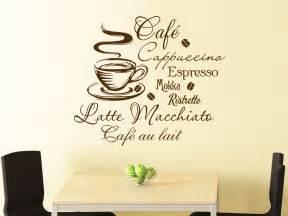 wandtattoo küche wandtattoo kaffee motiv küche wandtattoo de