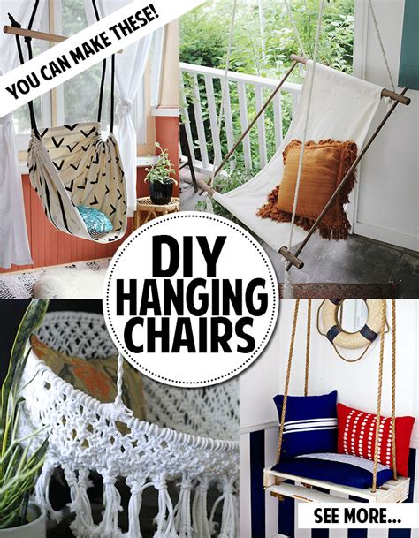 how to make a hanging l make a macrame hanging chair chair design ideas nurani