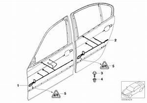 Bmw X5 Door Cable Harness  Co-driver U0026 39 S Side