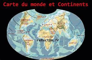 Carte Du Monde Metallique : info carte du monde avec les ocean ~ Teatrodelosmanantiales.com Idées de Décoration