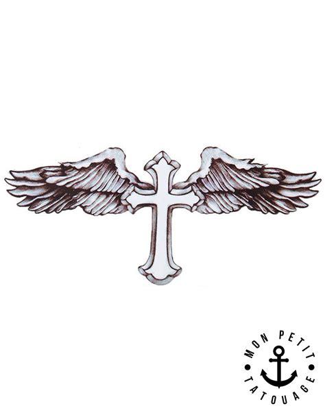 Tatouage Croix Ailes D'ange De Beckham  Mon Petit
