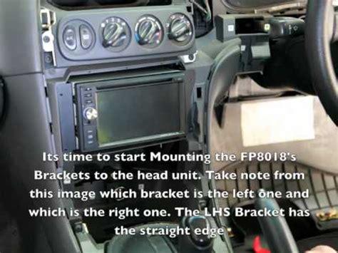 Commodore Facia Installation Kit Youtube