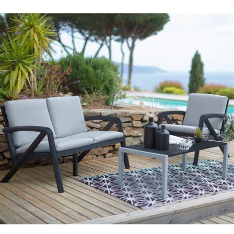 Best Salon De Jardin Lounge Salon De Jardin Lounge Sunday Barcelone Design Grosfillex