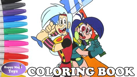Mighty Magiswords Coloring Book Pages Prohyas And Vambre