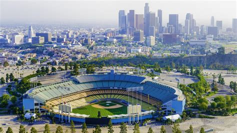 tunnel  dodger stadium offers  traffic solace