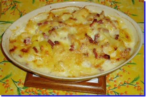 recette de cuisine belge tartiflette origine et recette