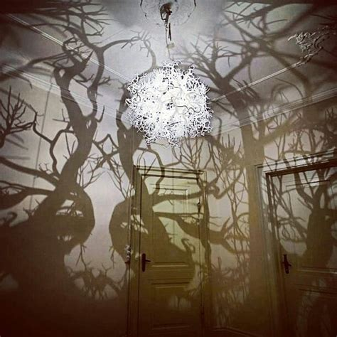 Chandelier Forest by Tree Shadow Chandelier Design Trees