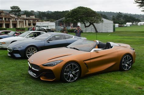 Bmw Concept Z4 And 8 Series Coupe At Pebble Beach