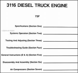 1990 Gmc Chevy Topkick Kodiak Caterpiller 3116 Diesel