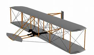 Computer Animation Of The Wright 1902 Aircraft Showing The